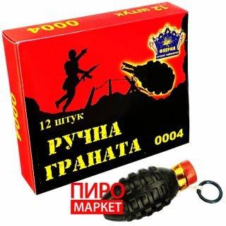 """""""Петарда Граната 12шт 0004 (TC-04)"""" фото"""