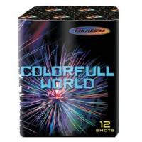"""Салют Colorful World GW218-93, калибр 20 мм, 12-зар."" фото"
