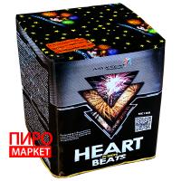 """Салют Heart Beats MC100, калибр 30 мм, 25-зар."" фото"