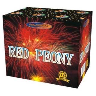 """""""Салют Red Peony GW 218-74, калибр 25 мм, 12-зар."""" фото"""
