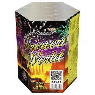 """Салют Fireworks World GP499, калибр 30 мм, 19-зар."" фото"