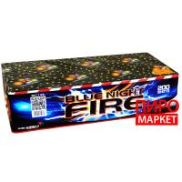 """""""Салют Blue night fire MC149, калибр 20 мм. 200 зар"""" фото"""