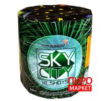 """Салют Sky City GW218-97, калибр 20 мм. 10 зар"" фото"