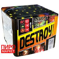 """Салют Destroy GP303, калибр 15 мм. 36 зар"" фото"