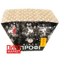 """Салют веерный СУ30-25-2W Профи, калибр 30 мм. 25 зар"" фото"