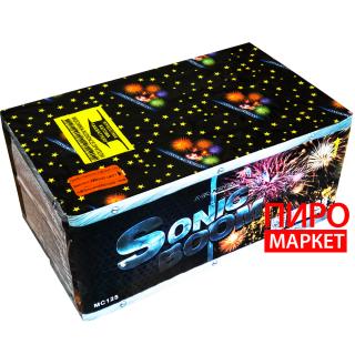 """""""Салют Sonic Boom MC125, калибр 20-30 мм. 88 зар"""" фото"""