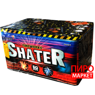 """""""Салют Shater MC136, калибр 25 мм. 60 зар"""" фото"""