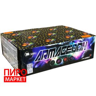 """Салют Armagedon MC147, калибр 20 мм. 300 зар"" фото"