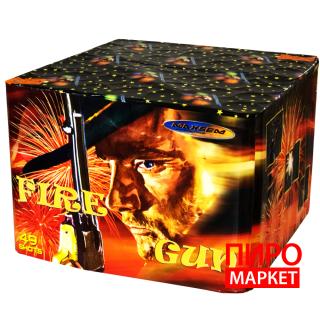 """Салют Fire gun MC200-49, калибр 50 мм. 49 зар"" фото"