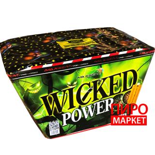"""""""Салют V-веерный Wicked Pover SB49-03V, калибр 30 мм, 49-зар"""" фото"""