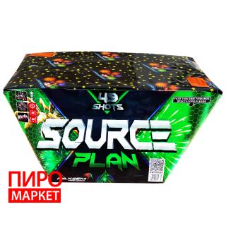 """Салют веерный GWM5036F, калибр 30 мм, 49 зар"" фото"