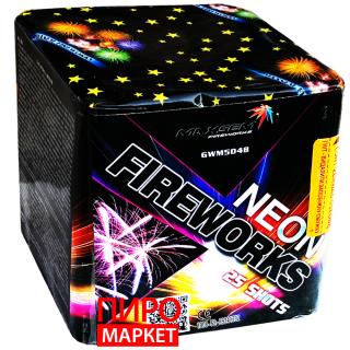 """Салют Neon Fireworks GWM5048, калибр 25 мм. 25-зар"" фото"