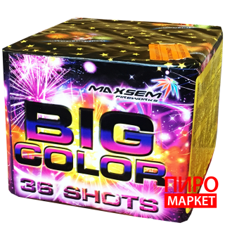 """Салют Big Color GP506-36, калибр 25 мм. 36-зар."" фото"