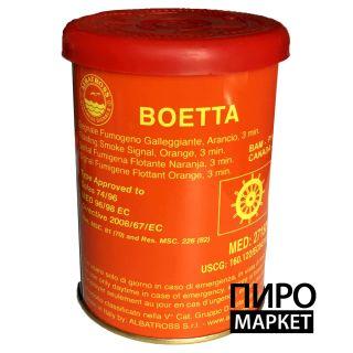 """""""Дымовая шашка Boetta от Albatros 180 с. оранжевая"""" фото"""