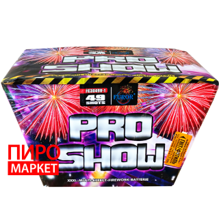 """Салют веерный Pro Show FC3049V-1, калибр 30 мм, 49 зар."" фото"
