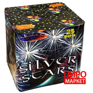 """""""Салют Silver Stars MC200-25, калибр 50 мм. 25 зар"""" фото"""