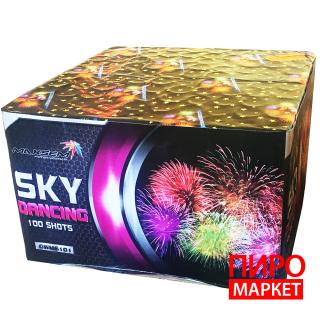 """""""Салют Sky Dancing GWM6101, калибр 30 мм. 100-зар."""" фото"""