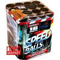 """Салют Speed Balls FC2016-1, калибр 20 мм. 16 зар"" фото"