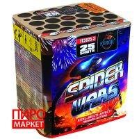"""Салют Furor Spider Wars FC3025-3, калибр 30 мм. 25 зар"" фото"