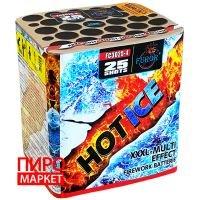 """""""Салют Furor Hot Ice FC3025-4, калибр 30 мм. 25 зар"""" фото"""