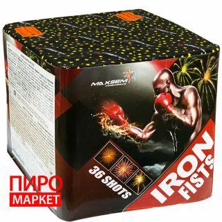"""""""Салют Maxsem Iron Fists MC175-36, калибр 45 мм. 36 зар"""" фото"""