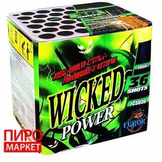 """""""Салют Wicked Power FC3036-1 калибр 30 мм.  36 зар."""" фото"""