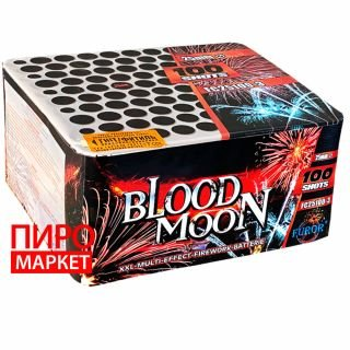 """Салют Blood Moon FC25100-3, калибр 25 мм. 100 зар"" фото"
