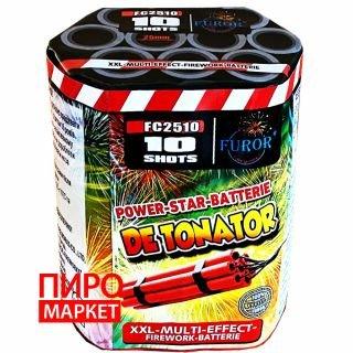 """""""Салют Detonator FC2510, калибр 25 мм. 10 зар"""" фото"""