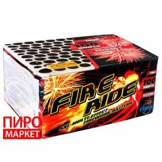 """""""Салют Fire ride FC25100-2, калибр 25 мм, 100 зар"""" фото"""