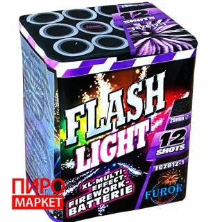 """Салют Flash Light FC2012-1, калибр 20 мм, 12 зар"" фото"