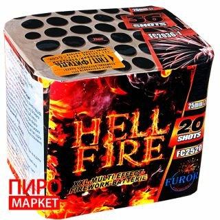 """""""Салют Hell Fire FC2520, калібр 25 мм, 20 зар"""" фото"""
