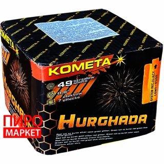 """Салют Kometa Hurghada P7257, калибр 20 мм, 49 зар"" фото"