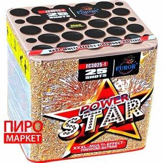 """Салют Power Star FC3025-1, калибр 30 мм, 25 зар"" фото"